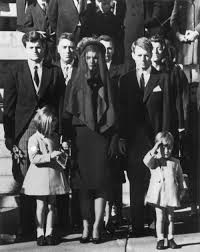 racist hollywood s good citizens and the confessions of nat turner members of the kennedy family at the funeral of assassinated president john f kennedy at