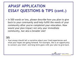 apiasf application essay slideshare apiasf application essay slideshare mba application essays short and long term goals short and long term goals essay examples