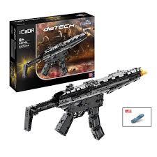 Купить <b>Конструктор Пулемет</b> MP5 617 деталей <b>Cada</b> Technics ...