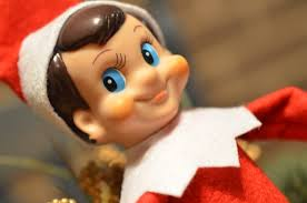 Image result for creepy elf on the shelf
