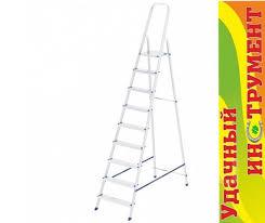 Лестница-<b>стремянка Сибртех 9 ступеней</b>, алюминиевая, высота ...