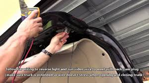 HOW TO INSTALL <b>CAR BACKUP</b> CAMERA   WIRE REAR VIEW ...