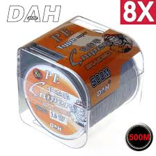 500M 8X DAH FISHING Brand Super <b>Strong</b> Japan Multifilament PE ...