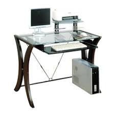 glass top office desk coaster coaster division table desk with glass top in cappuccino finish desks adorable glass top office