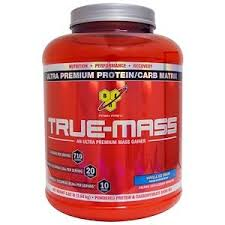 BSN, <b>True Mass</b>, <b>Ultra Premium Protein/Carb</b> Matrix, Vanilla Ice ...