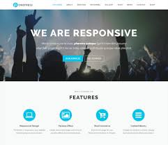 best wordpress themes and templates for  onepress one page wordpress theme