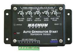 <b>AUTOMATIC GENERATOR START</b> MODULE <b>Automatically Start</b> ...