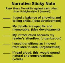 Difference between revising and editing essays SenatorFlake com Editing and Revising Checklist for Personal Narratives  gr