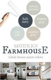 Our house: Modern Farmhouse Paint <b>Colors</b> - Christinas Adventures