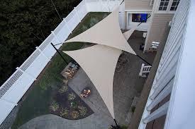 sun sails patio shade ideas
