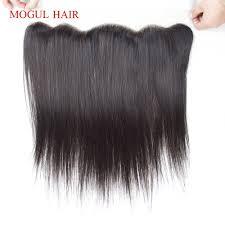 <b>Mogul Hair</b> 4x13 Ear to Ear Lace Frontal <b>Indian</b> Straight <b>Remy</b> ...