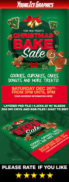christmas bake flyer template by youngicegfx graphicriver christmas bake flyer template events flyers