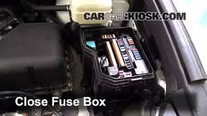 blown fuse check toyota highlander toyota 6 replace cover secure the cover and test component