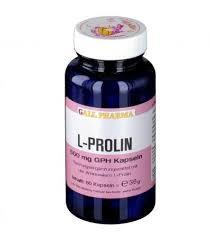 GALL PHARMA <b>L</b>-<b>Prolin 500</b> mg GPH Kapseln Kapseln, 60 St