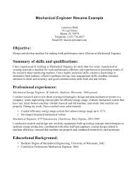 resume mechanical engineer resume mechanical engineer 3857