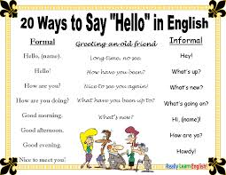 best ideas about teaching english grammar esl 20 ways to say hello in english esl speak english efl