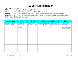 doc 746572 action plan template action plan template an easy action plan template action plan template