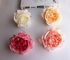 2019 <b>High Simulation Core Peony</b> Flower Head Silk Flower DIY ...