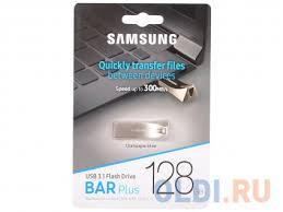 USB <b>флешка</b> Samsung <b>BAR</b> Plus 128Gb Champagne (MUF ...