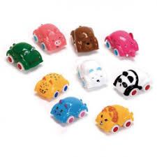 Купить <b>vikingtoys</b> 1170 <b>Машинки</b>-животные <b>7см</b> в шаре 9 моделей