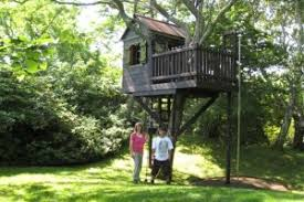 Simple Free Standing Tree House Plans   Wooden Global    Free Simple Treehouse Designs