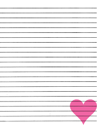 best photos of heart lined paper printable stationery 600 56 9 best images of printable kindergarten writing paper