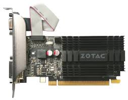 <b>Видеокарта ZOTAC</b> GeForce <b>GT 710</b> 954Mhz PCI-E 2.0 2048Mb ...