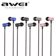 <b>Awei ES</b>-660i In-Ear Earphone With Microphone Metal Headset ...