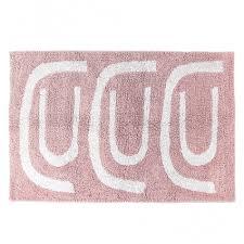 Купить <b>Коврик для ванной Go</b> round цвета пыльной розы ...