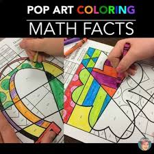 Small Picture St Patricks Day Math Fact Coloring Pages by Art with Jenny K TpT