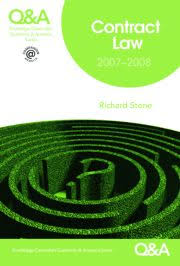 questions and answers   routledge qampa contract law