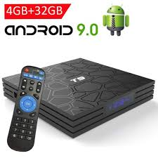 Smart <b>Android 9.0 TV</b> Box - with 4GB RAM / 32GB ROM / T9 Android ...