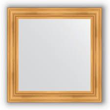BY 3251 <b>Зеркало в багетной</b> раме - травленое золото 99 mm ...