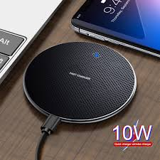 [NP]<b>OLAF</b> Thin Round 10W <b>Wireless Charger</b> Fast Charging for ...