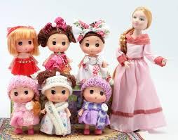 6 <b>маленьких</b> куколок, <b>набор</b>