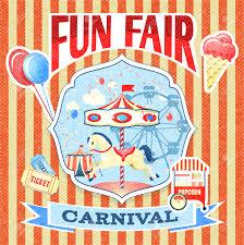 summer fair stock illustrations cliparts and royalty summer fair vintage carnival fun fair theme park poster template vector illustration illustration
