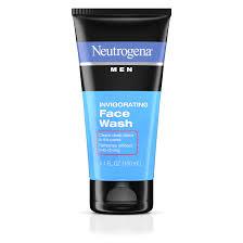 Neutrogena <b>Men</b> Daily Invigorating Foaming Gel <b>Face Wash</b>, 5.1 fl. oz