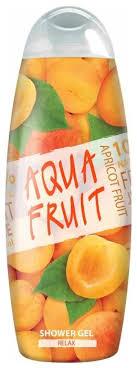 <b>Гель для душа AQUAFRUIT</b> apricot fruit relax — купить по ...