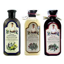 <b>Шампунь для волос</b> Рецепты Бабушки Агафьи, <b>3</b> вида, 350 мл в ...