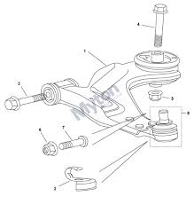 jaguar x type   wishbone front diagram   justjagsuk comjaguar x type   wishbone front diagram