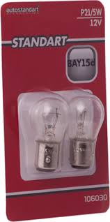 <b>Лампа</b> для авто <b>AUTOSTANDART</b> накаливания <b>Standart</b> P21/5W ...