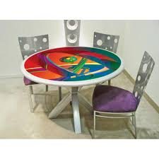 related post with colorful dining tables colorful dining table art dining room furniture