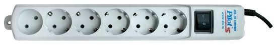<b>Сетевой фильтр Pilot</b> S, белый, 6 розеток, 1.8 м, с/з, 10А / 2200 Вт