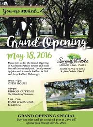 grand opening at serenity oaks memorial park thecreole com