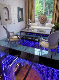 pool house wine cellar contemporary formal living room idea in nashville box version modern wine cellar