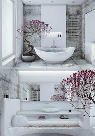 japanese style house bathroom ideas freestanding tub bonsai bonsai tree interior