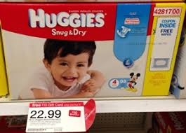 Target: Huggies Box Diapers just $14.74 after coupons & gift card ...