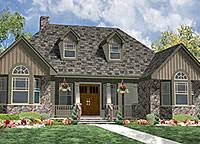 House Plans  amp  Home Plans from Better Homes and GardensSmall Country Cottage