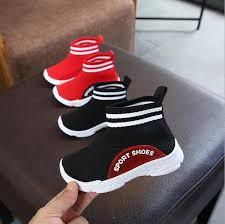Solid color breathable children's socks shoes 2019 <b>spring and</b> ...
