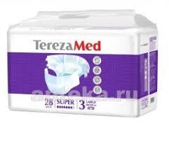<b>Terezamed подгузники</b> для взрослых <b>super</b> large (№3) n28 - цена ...